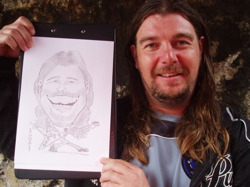 mark bowen caricature